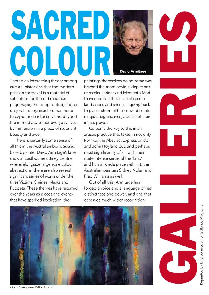 Galleries Magazine